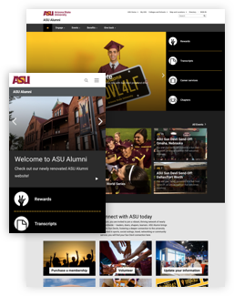 Arizona State University Alumni screenshot