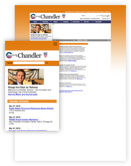 chandler old website screenshot