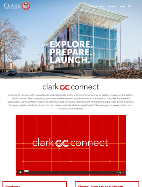 Clark Connect screenshot
