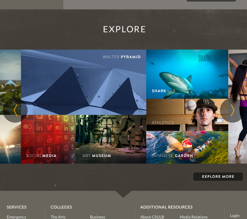 explore grid screenshot