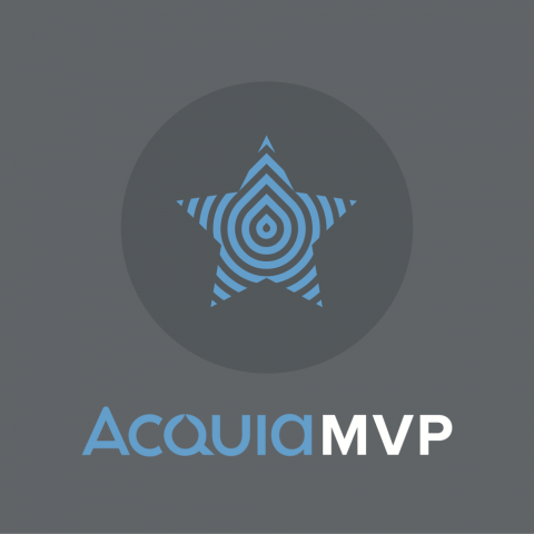 Acquia MVP badge