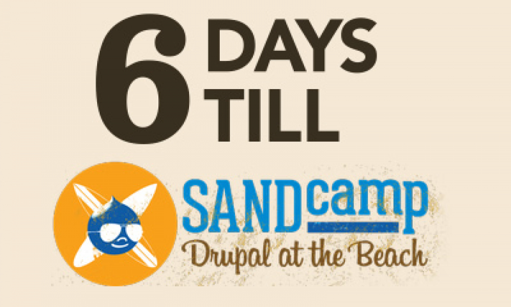 SANDcamp: Drupal at the Beach
