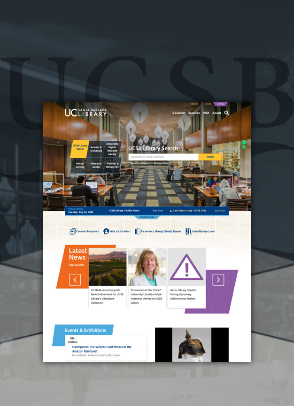 UCSB project collage