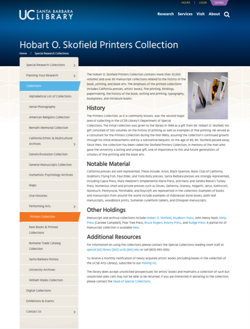 collections screenshot